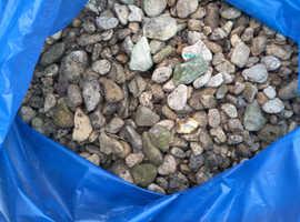 Round decorative gravel