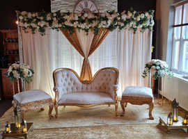 Stage Sets hire for Weddings,Engagements,Graduations,Etc