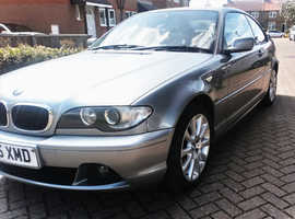 BMW 3 Series, 2006 (55) Grey Coupe, Manual Petrol, 17,000 miles