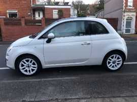 Fiat 500, 2010 (10) White Hatchback, Manual Petrol, 69,261 miles