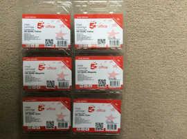 6 HP Compatible 933XL Colour Ink Cartridges