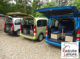 KANGOO DOBLO BERLINGO PARTNER BIPPER MICRO CAMPER 2 BERTH SMALL COMPACT CAMPERVAN