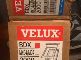 Two velux flashing kits BDX MK04/04 2000