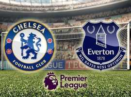 2 tickets for Chelsea v Everton on Sun 8th March