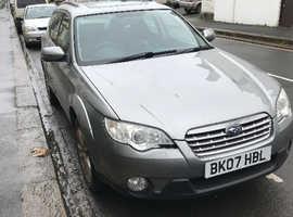 Subaru Outback, 2007 (07) Grey Estate, Automatic Petrol, 91,000 miles Genuine sale!  full time 4x4