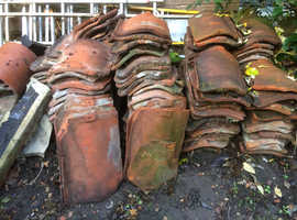 Free roof tiles and wood