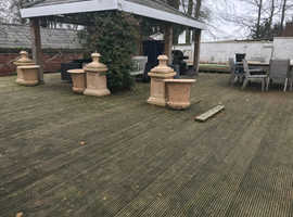 2500 sq ft of decking for free