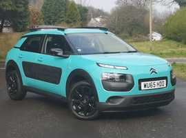 Citroen C4 CACTUS, 2015 (65) Blue lagoon Hatchback, Manual Petrol, 16,000 miles