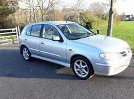 Nissan Almera, 2002 (52) Silver Hatchback, Manual Diesel, 125,069 miles