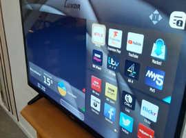 """Luxor 43"""" 4k UHD led smart tv"""
