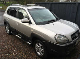 Hyundai Tucson, 2006 (56) Silver Estate, Manual Diesel, 90,000 miles