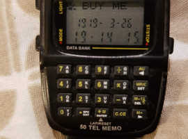50 tele memo data bank watch .