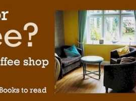 Mayflower Coffee Lounge:Visit our Coffee Lounge for hot drinks, free WiFi, plus books you can sit down and read ...