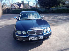 Rover 75, 2003 (03) Blue Saloon, Manual Petrol, 080,386 miles