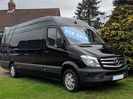 XLWB SPRINTER 316CDI WITH MASSIVE GH AWNING, 41k MILES HUGE SPEC !