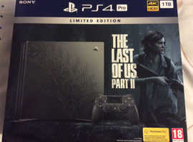 PS4 Limited Edition 1TB The Last of Us Console