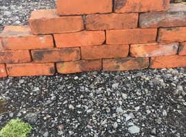 Belfast red clay brick reclaimed