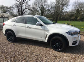 BMW X6, 2016 (65) White Coupe, Automatic 4.0 Diesel, 44,000 miles