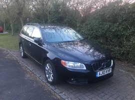 Volvo V70, 2010 (10) Black Estate, Automatic Diesel, 113,000 miles