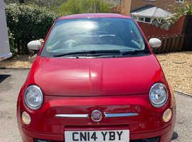Fiat 500, 2014 (14) Red Hatchback, Manual Petrol, 34,100 miles