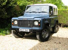 Land Rover 90 DEFENDER 300 TDi, 1994 (M) Blue 4x4, Manual Diesel, 140,000 miles