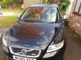 Volvo S40, 2010 (60) Black Saloon, Manual Diesel, 104,000 miles