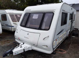 2008 Elddis Odyssey 525, quality 5 berth caravan, mover, awning, free extras, ready to use