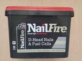 NailFire D Head Nails & Fuel Sells First Fix Nail Gun