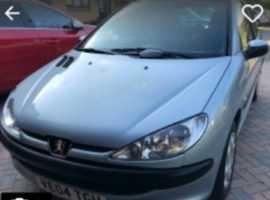 Peugeot 206SW XS, 2004 (04), Manual Petrol, 89,000 miles
