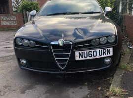 Alfa Romeo 159, 2010 (60) Black Saloon, Manual Diesel, 123,939 miles