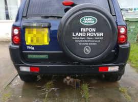 Land Rover Freelander, 2003 (03) Blue Estate, Manual Diesel, 117,780 miles