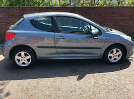 Peugeot 207, 2007 (57) Grey Hatchback, Manual Petrol, 103,000 miles