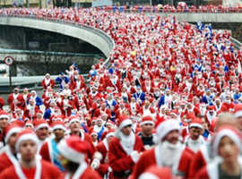 Take Part in The BTR Santa Dash and Run for The British Red Cross!