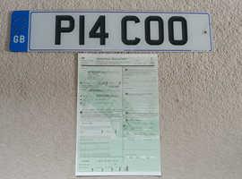 Registration.......P14 COO