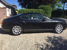 Bentley Continental, 2004 (04) Black Coupe, Automatic Petrol, 63,475 miles