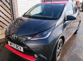 Toyota Aygo, 2017 (17) Grey Hatchback, Manual Petrol, 26,467 miles