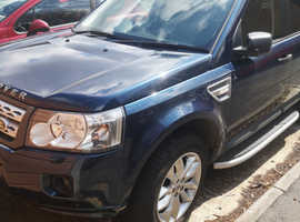 Land Rover Freelander, 2012 (12) Blue Estate, Manual Diesel, 117,301 miles