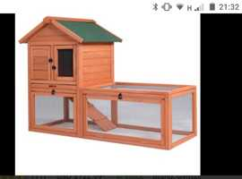 I'm looking for someone who has a free rabbit hutch to give me as I am hoping to get a baby rabbit