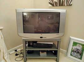 Schneider 26 inch analogue TV & stand