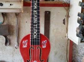 handmade Liverpool little guitar