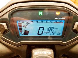 2015 Honda CB500 FA-F Wavy Discs, HISS Security System ABS Brakes FULL MOT+SERVICE