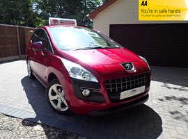 Peugeot 3008, ACTIVE 1.6 HDI 2012 (12) Red Hatchback, Manual Diesel, 70,000 miles