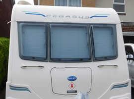 2013 2 berth tourer /0ne owner/full service/£1800 extras inc mover