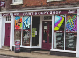Well Established Design, Print and Copy Shop for Sale