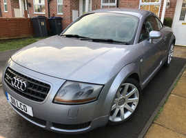 Audi TT, 2003 (03) Silver Coupe, Manual Petrol, 140,600 miles