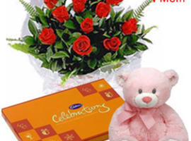 Send Mother's Day Flowers From UK to India