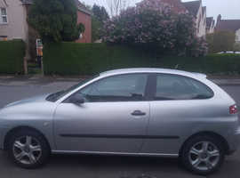 Seat Ibiza, 2004 (04) Grey Hatchback, Manual Petrol, 134,000 miles