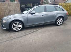 Audi A4, 2014 (14) Grey Estate, Manual Diesel, 61,000 miles