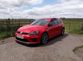 Volkswagen Golf, 2016 (65) Red Hatchback, Manual Petrol, 49,000 miles