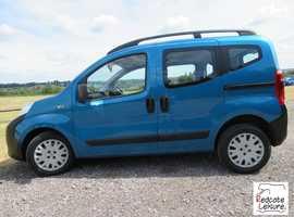 Peugeot Bipper Teepee, 2011 (11) Blue Hatchback, Manual Diesel, 44,000 miles